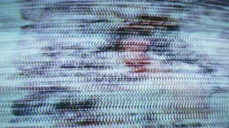 şıklık : Static and electronic noise captured from an old television with audio
