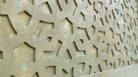 motif : Decor wall in the oriental style. Decorative pattern on the wall.