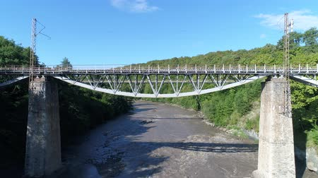 aerialphotography : Aerial photography, bridge over the river.