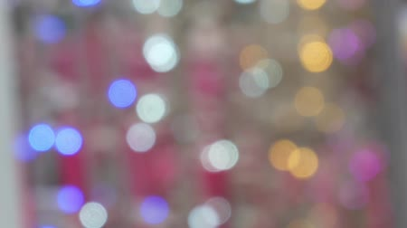 gloss : bokeh of light abstract, bokeh background. Stock Footage