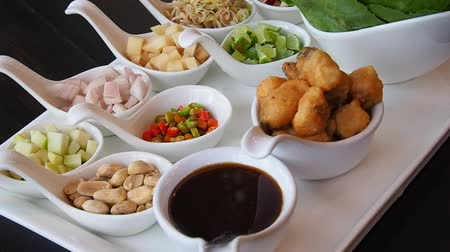 chilli sauce : Meiang Kham is the northern food of Thailand. Thai food styles.