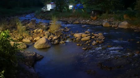 nan : A nature flowing stream on mountain at Nan Province, Thailand