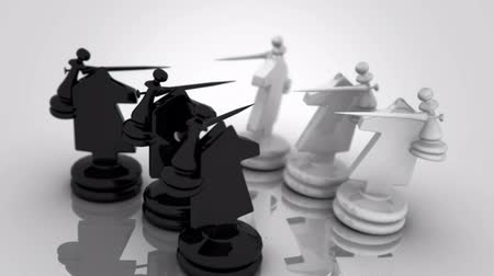 conflict : Chess animation