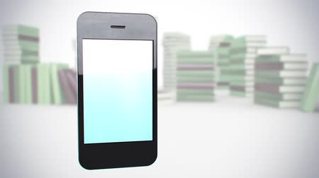 computer : smart phone animated background Stock Footage