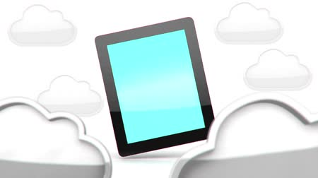 etkileşim : Tablet PC in cloud