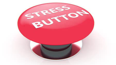 zahmetsiz : Stress button animation Stok Video