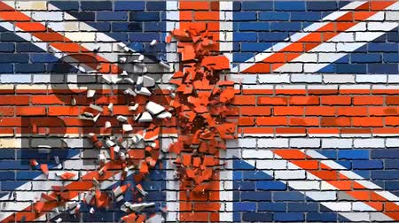wielka brytania : British flag with effects,  United Kingdom flag font with effects,  Abstract mosaic flag of Great Britain,  Font with the Great Britan flag,  Flag crumble effect,  Integration effect