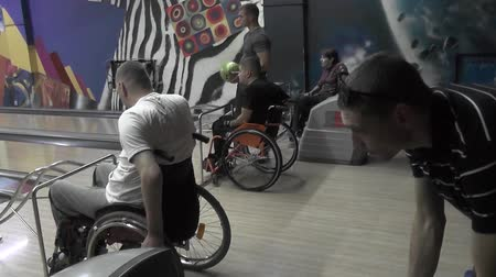 People with disabilities go in for sports