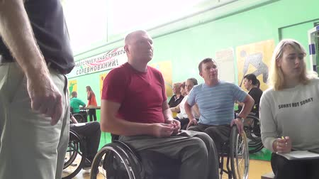 recovering : People with disabilities go in for sports