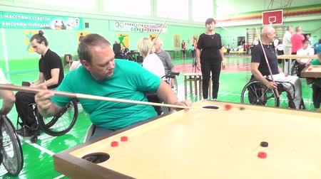 nativo : People with disabilities go in for sports