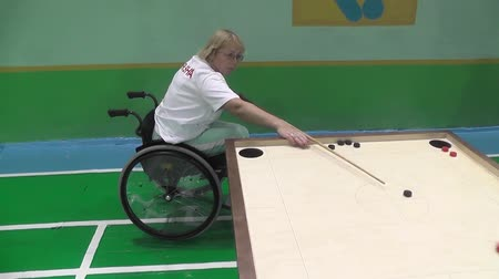 духи : People with disabilities go in for sports