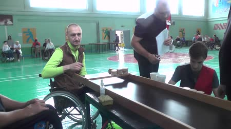 воля : People with disabilities go in for sports
