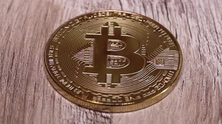 Bitcoin digitale valuta Stockvideo