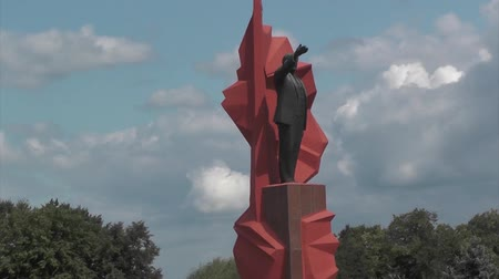 lenin : Lenin Monument Is a Legacy of the Soviet Past