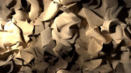 колебание : Abstract wood shavings paper cloth pulsating background backdrop 4K