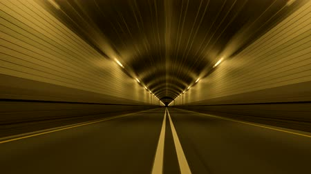 straight road : Tunnel Road Driving Fast Endless Seamless Loop 4K