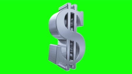 impostos : Dollar sign symbol rotate loop business finance tax gangster bling financial 4k