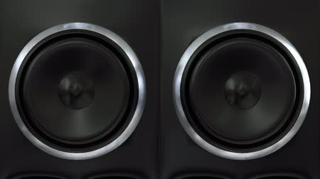 reproduktory : Speakers music vibrating sub cone beats bass club loudspeaker sound boom box 4k