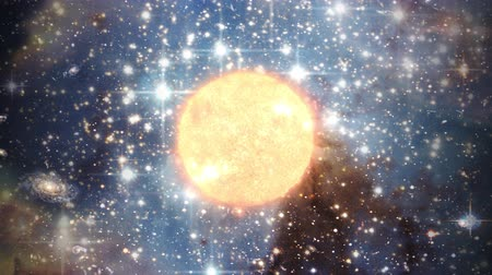 galassie : Big bang alla creazione della stella del sole universo singularity space galaxy world 4k