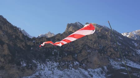 field measurements : Windsock in the mountains