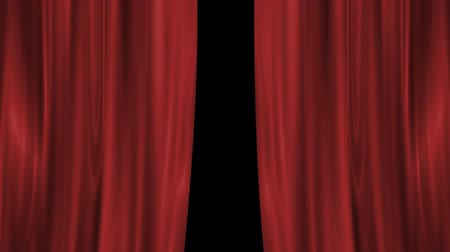kapalı : Theater Curtains Opening Effect