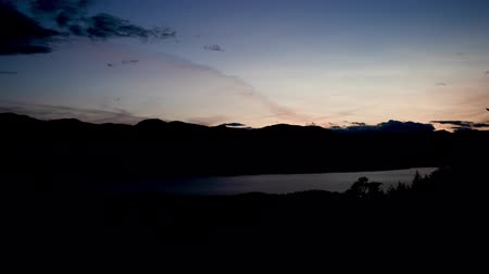 ingiliz columbia : Harrison Hot Springs night time lapse