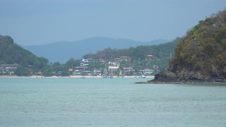 litoral : View off the Coast of Phuket Thailand