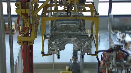 soldagem : Automobile factory. Car production. Vídeos