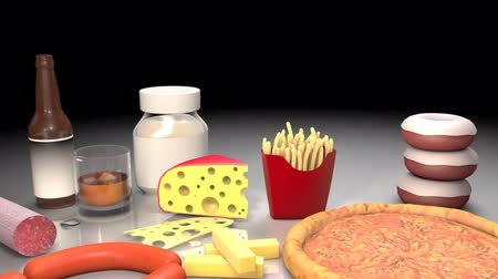 graxa : 3D animatied harmful food
