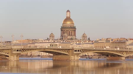 lieutenant : Saint Isaacs Cathedral and Annunciation (Lieutenant Schmidts). Petersburg, Russia