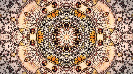psicodélico : Pastel kaleidoscope sequence patterns. Abstract motion graphics background. Caleidoscope for yoga, clubs, shows, mandala, fractal 3D animation. Beautiful bright ornament. Seamless loop