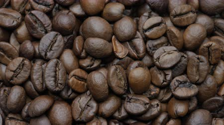 moka : Roasted coffee beans. Selective focus.