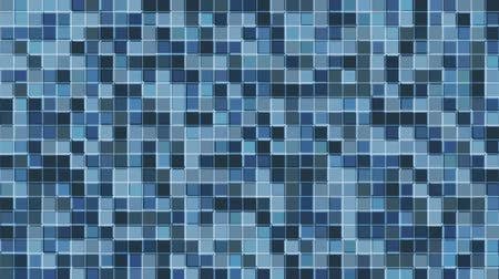 Mosaic pattern of bluegray. Geometric square tiles. Seamless loop background.
