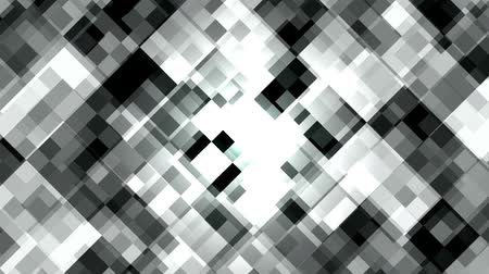 Mosaic pattern of white diamond. Brightly shining. Seamless loop background. 무비클립