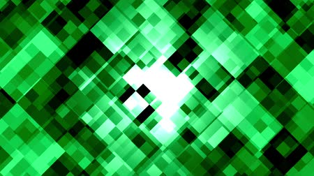 Mosaic pattern of green emerald. Brightly shining. Seamless loop background.