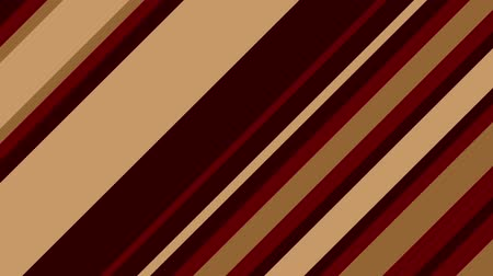 benzer : Diagonal brown stripes change and move. Abstract geometric background. Seamless loop.
