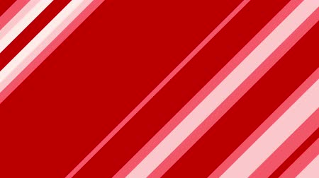 benzer : Diagonal red stripes change and move. Abstract geometric background. Seamless loop.