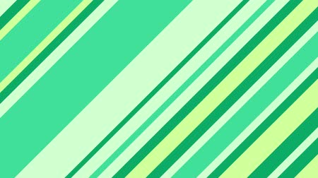 benzer : Diagonal green stripes change and move. Abstract geometric background. Seamless loop. Stok Video