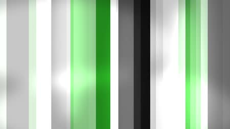 vertical : Vertical green stripes and glow light. Abstract geometric background. Seamless loop.