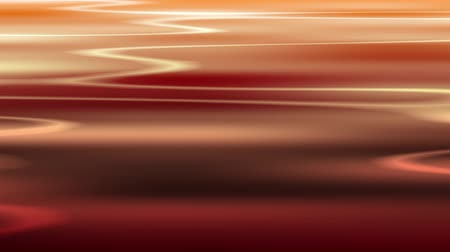 fluctuation : Water surface of red. Wave come and ripple. Seamless loop. Stock Footage