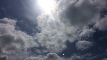 In Hokkaido, sunshine and clouds time-lapse