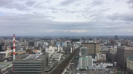 Sapporo time-lapse clouds