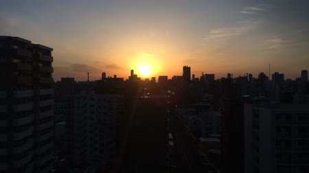 Sapporo spring morning timelapse Wideo