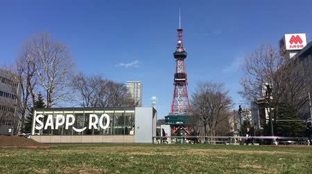 Sapporo TV Tower time lapse