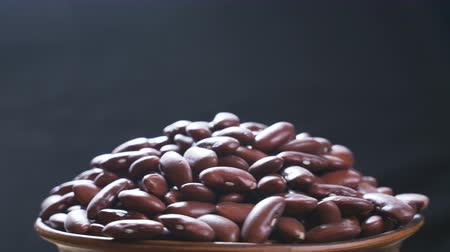 консервированный : Red Kidney Beans Rotating Closeup