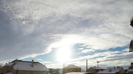Winter Himmel Timelapse