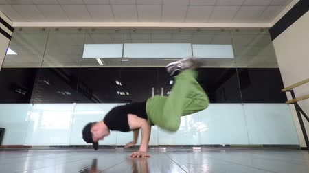 Tanzender Boy Breakdance