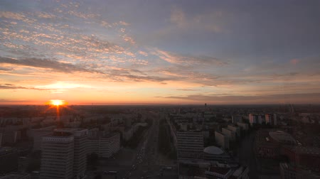 Cityview of Berlin at Sunrise