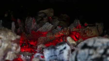 briquette : Barbecue fire and glow