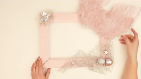 самодельный : Creation Of Selfmade Photo Frame